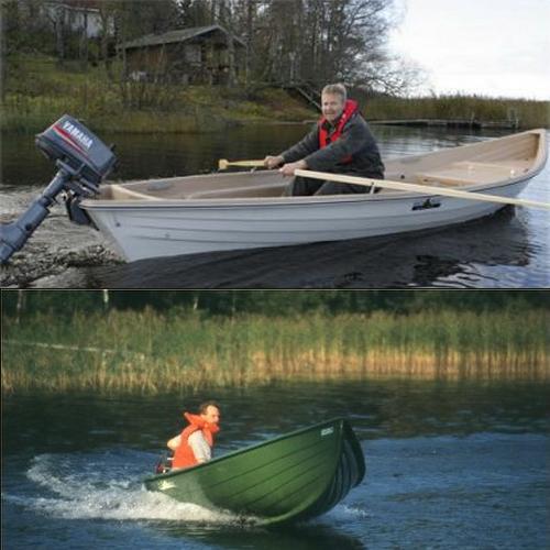 лодки для мелких и быстрых рек